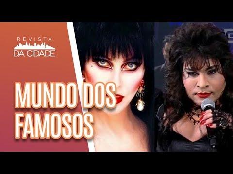 Rosanah Ou Elvira, Rainha Das Trevas? + SHOW DOS FAMOSOS - Revista Da Cidade (14/05/18)