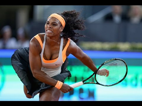 Serena Williams VS Victoria Azarenka Highlight Madrid 2015 R3