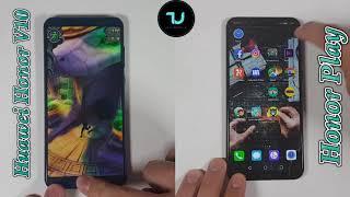 Honor Play vs Honor View 10 Speed test/Comparison/Kirin 970 Battle/Flagship Huawei