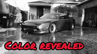 JC's KA24DET Nissan 240sx S13 Color Reveal