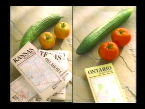 Ontario There's No Taste Like Home 1992