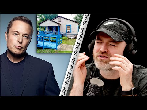 Elon Musk Lives in a $50,000 House...