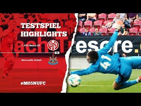 Testspiel Highlights | 1. FSV Mainz 05 - Newcastle United | 05er.tv