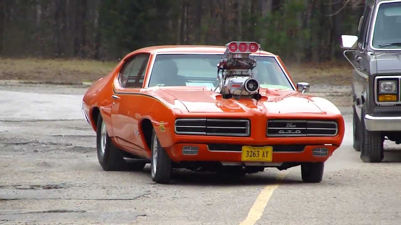 Pro Monster Gto Pro Street Judge Bad Ass Blower Insane Engine