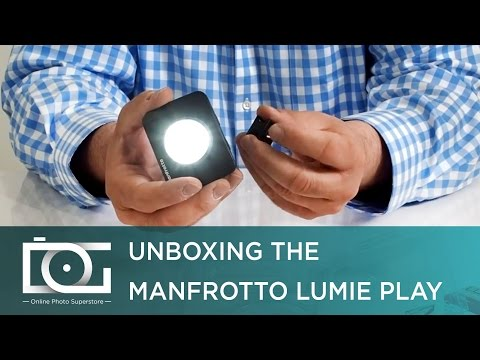 CAMERA LIGHT TUTORIAL   MANFROTTO High Power LED Lumie Play Light w/ Filters for Small Cameras