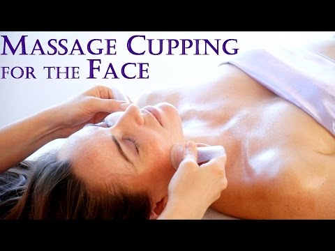 Massage Cupping for Beautiful Skin! Techniques for the Face,