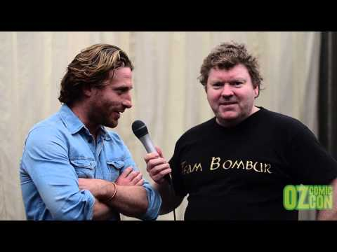 Stephen Hunter s Dean O'Gorman at Sydney Oz Comic Con 2014