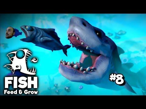 Bütün Balıkları Yutan Balık Goliath - Feed & Grow The Fish # 8