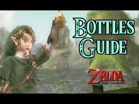Zelda Twilight Princess Hd Bottles