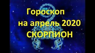 Гороскоп на апрель 2020 Скорпион женщинам и мужчинам