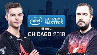 CS:GO - Astralis vs. mousesports [Nuke] Map 2 - Quarterfinals - IEM Chicago 2018