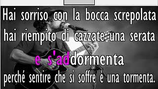 Alessandro Mannarino - SIGNORINA Karaoke con testo by QdK