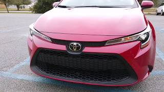 2020 Toyota Corolla and Hybrid Media Drive Quick Look