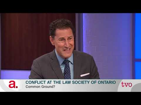 Conflict At The Law Society Of Ontario