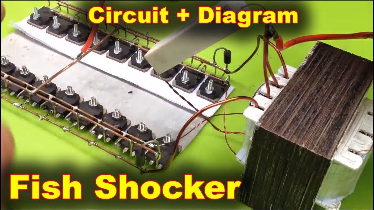 Stun Gun Circuit Schematics Diagrams Html Fish Shocker Schematic