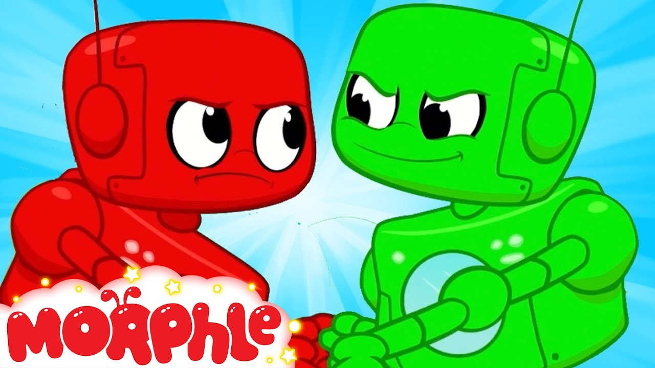 Morphle and The Evil Twin! - My Magic Pet Morphle | Cartoons For Kids | Morphle TV