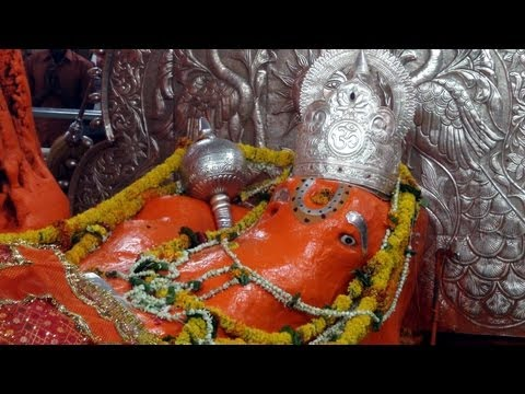 A Gigantic Hanumanji in Sleeping Position - Jamsavli, M. P.