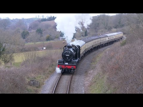 West Somerset Railway WSR Spring Steam Gala 2016 in 4K