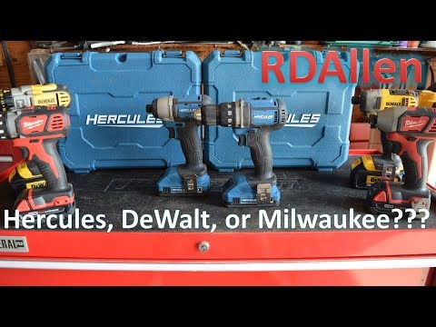 Should You Get a Harbor Freight Hercules Drill or Impact