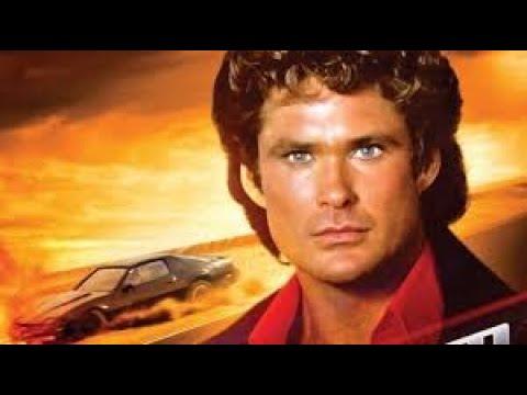 David Hasselhoff from 'Knight Rider'