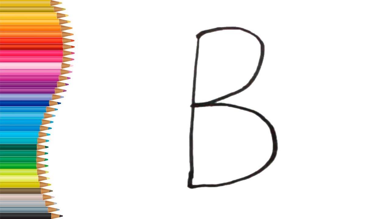 como transformar a letra b em um pÁssaro como fazer desenho com as