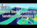 Marble Blast Powered Up Compilation - Sandbox Levels