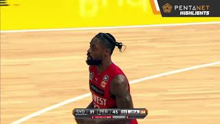 Perth Wildcats 88 def. Sydney Kings 68 Highlights - 27 January 2019