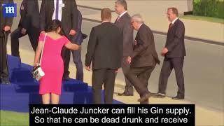Swedish Member of Parliament Jeff Ahl Tears globalist and drunkard Juncker a new one.