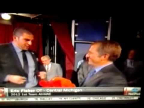 Eric fisher gets drafted first pick in 2013 nfl dr