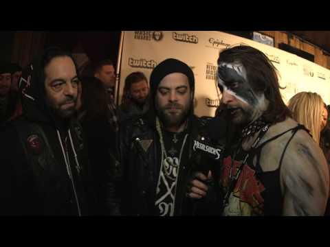 BLACK ANVIL Interview, Revolver Music Awards 2016 Black Carpet | MetalSucks