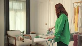 Brabantia suggests calling a friend while ironing thumbnail