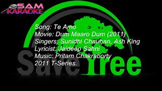Te Amo _ Karaoke Sam Karaoke