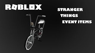 Roblox How to Get Mike's Bike I Stranger Things Event Promo Code