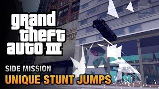 GTA 3 - Unique Stunt Jumps [Wheels Up Trophy / Achievement]