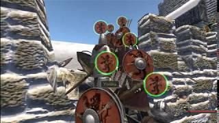 como conquistar un castillo en mount blade warband