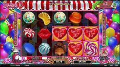 Sweet 16 Online Casino Slot Huge Win!