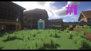 Minecraft: construction d'une ville #1