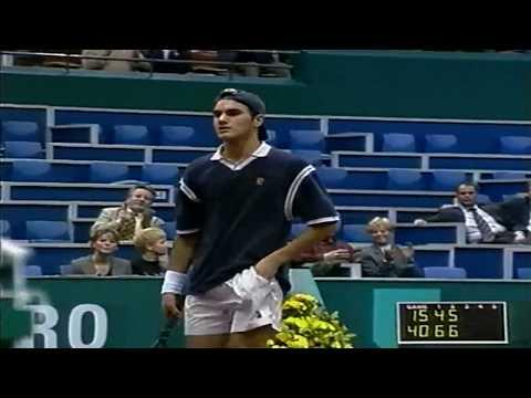 50FPS Roger Federer vs Bohdan Ulihrach Rotterdam 1999