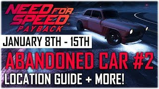 Need For Speed Payback Abandoned Car #2 - Location Guide + Gameplay - Volvo Amazon P130 NFS Payback