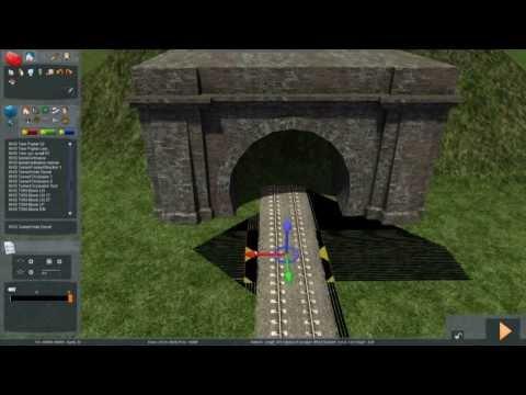 Train Simulator 2014 - Tutorial 6 (Tunnels)