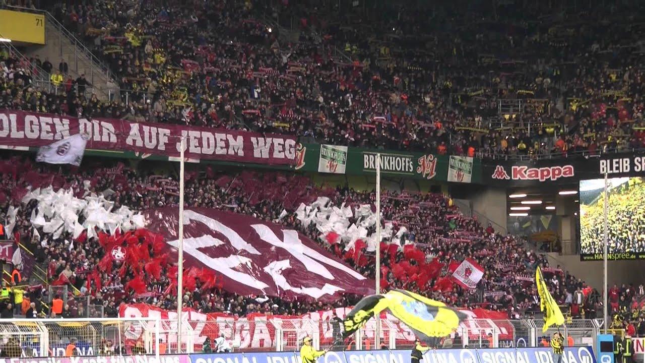 Choreo Dortmund - Lautern 1-1 Borussia Dortmund vs 1. FC Kaiserslautern BVB