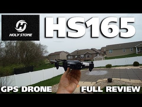 Holy Stone HS165 1080p Camera GPS Drone Full Review