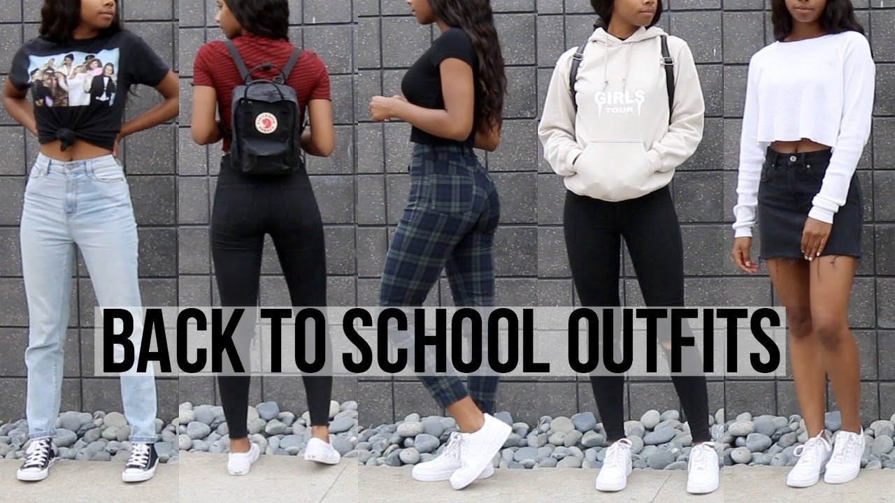 Back To School Outfit Ideas 2018 | Kianna Naomi