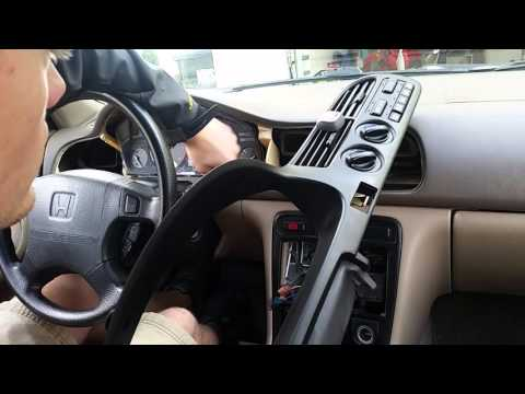 Remove Instrument Gauge Cluster Honda Accord