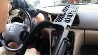 Remove instrument gauge cluster Honda Accord