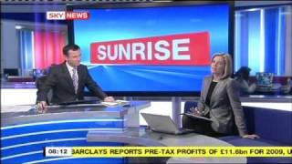 Charlotte Hawkins & Sarah-Jane Mee On Sky News Sunrise 16-2-2010