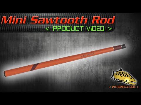The Mini Sawtooth Pocket Tenkara Rod - Tenkara Rod CO
