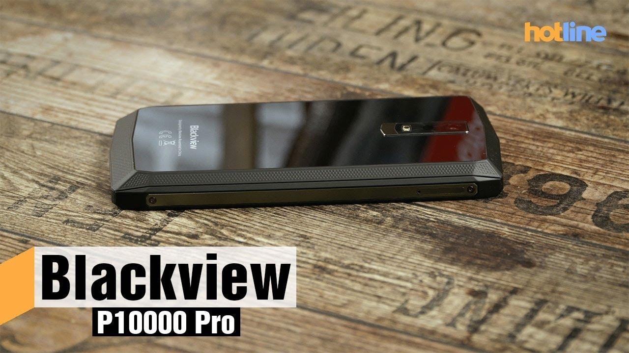 Blackview P10000 Pro — для тех, кому очень важна автономность
