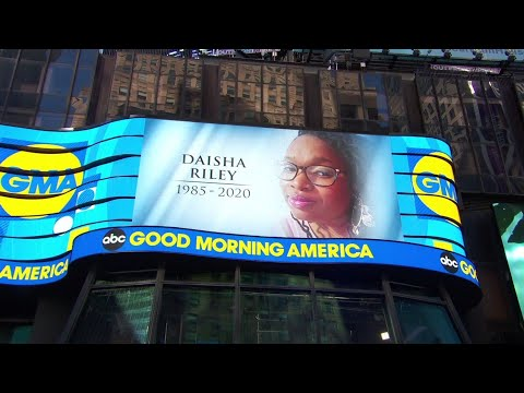 Good Morning America Producer Daisha Riley Dies at 35 ...