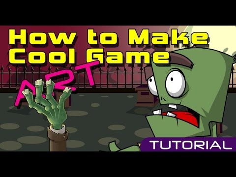 How create Art For Games - Tutorial - Graphic Design